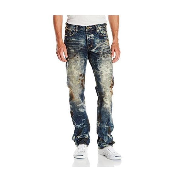PRPS Goods & Co. Men's Barracuda Regular Fit Straight Leg Jean, Jungle, 30