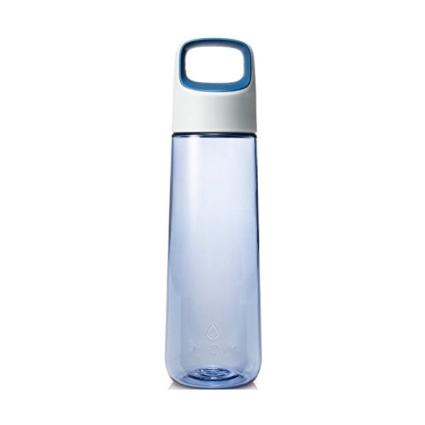 KOR Aura BPA Free Water Bottle, 750ml, Ice Blue