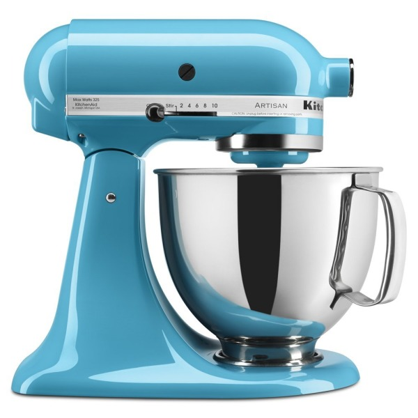 5-Qt. Stand Mixer with Pouring Shield - Crystal Blue