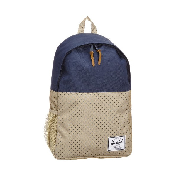 Herschel Supply Co. Jasper, Khaki Polka Dot/Navy, One Size