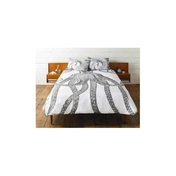 Octopus Duvet Cover Size: Twin