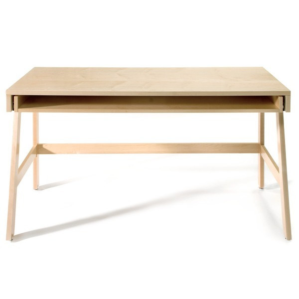 Offi Trundle Desk in Maple