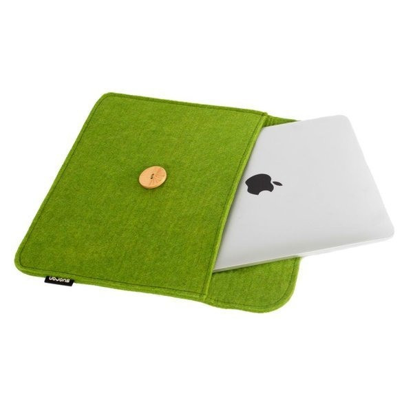 Suoran IPad Mini Sleeve IPad Mini Case IPad Mini Cover Bag Wool Felt Sleeve For IPad Mini (9.0x5.9x0.4) - Green