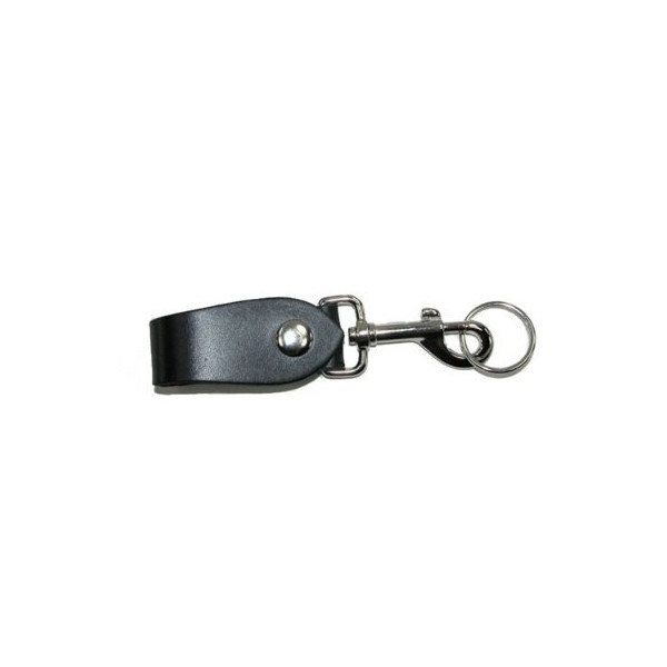 Leather Belt Hanger Key Fob