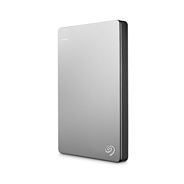 Seagate Backup Plus Slim 1TB Portable External Hard Drive for Mac with 200GB of Cloud Storage & Mobile Device Backup USB 3.0 (STDS1000100)