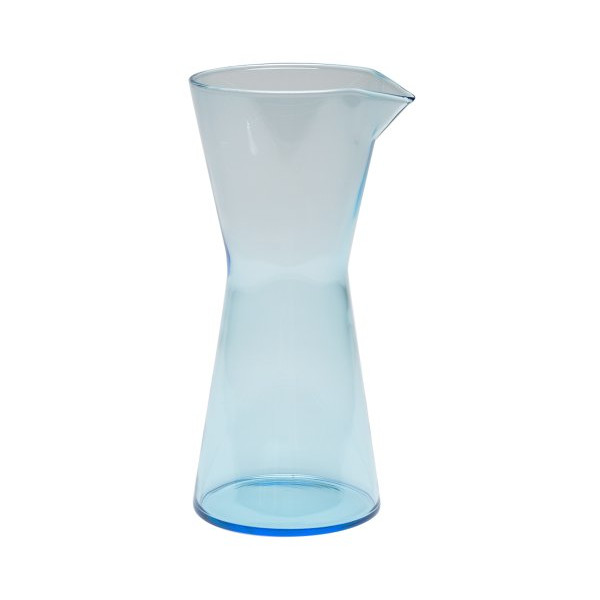Iittala Kartio Pitcher, Light Blue