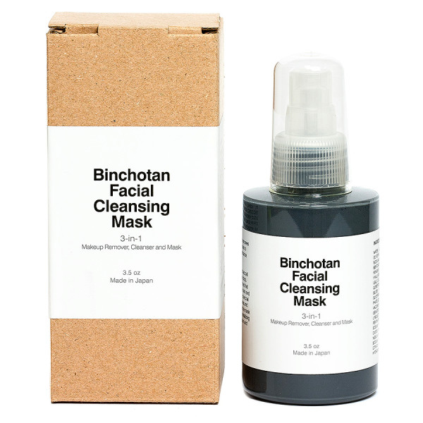 Binchotan Charcoal Cleansing Mask 3.5oz by Morihata