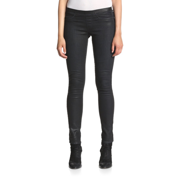 Helmut Lang Women's Mortar Wash Skinny Jean, Black