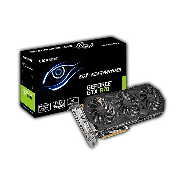 Gigabyte GeForce GTX 970 G1 Gaming 4GB GDDR5 PCiE Video Graphics Card GV-N970G1 GAMING-4GD