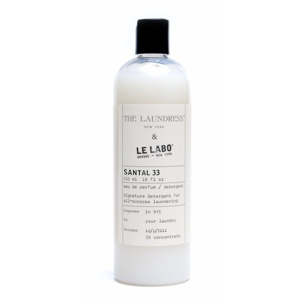 Le Labo Santal 33 Signature Detergent 16 oz by The Laundress