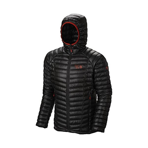 Mountain Hardwear Ghost Whisperer Down Hooded Jacket - Men's Shark Medium
