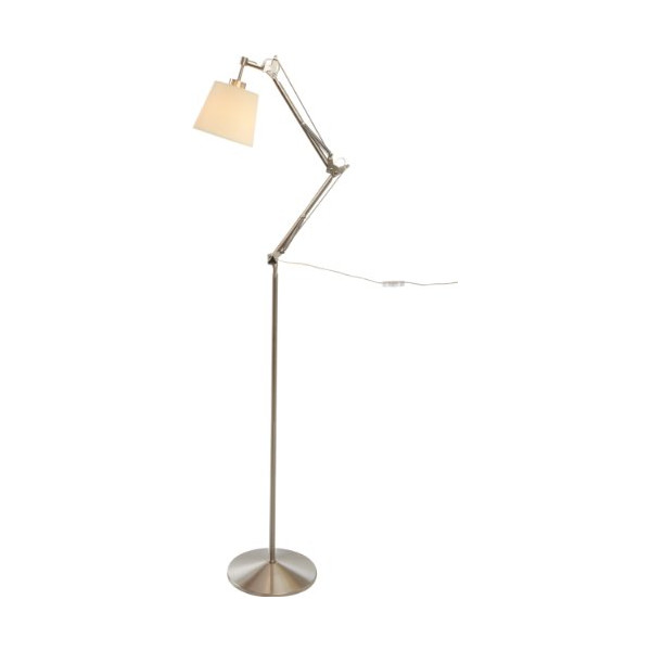 Adesso Architect Floor Lamp, Steel