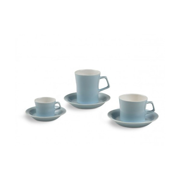 Authentics Piu Cup, Porcelain, with Handle, Light Blue, 180 ml, 2812266