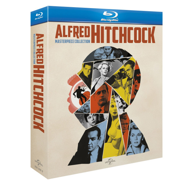 Alfred Hitchcock, The Masterpiece Collection on Blue-Ray
