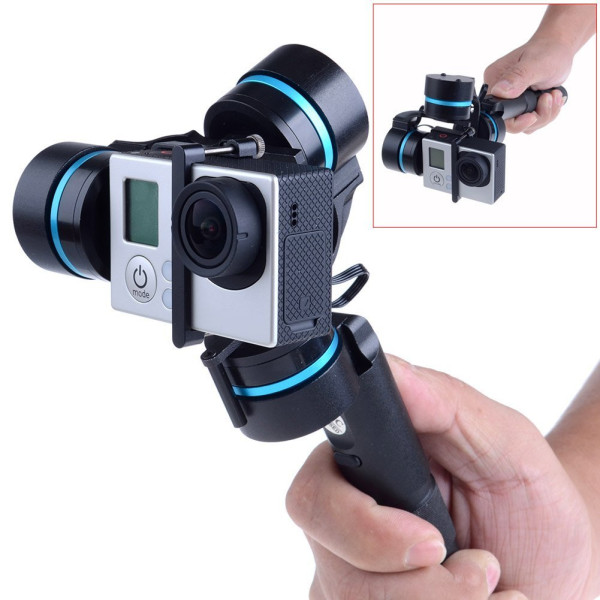 Neewer® Feiyu 3-axis Brushless Handheld Gimbal Handle Camera Mount for GoPro 3 / 3+ / 4