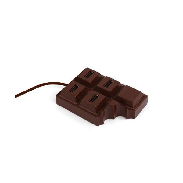 Kikkerland Chocolate USB Hub