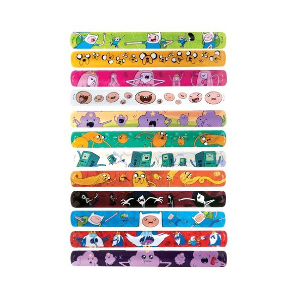 Adventure Time Slap Bracelet Lot of 20