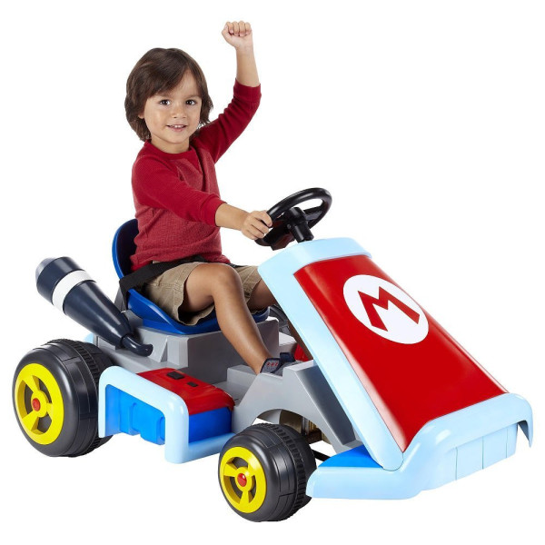 Super Mario Kart Ride On Vehicle