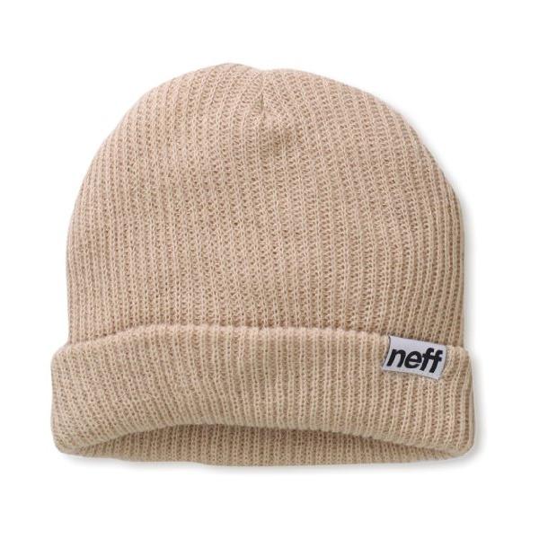 neff Fold Beanie, Khaki, One Size
