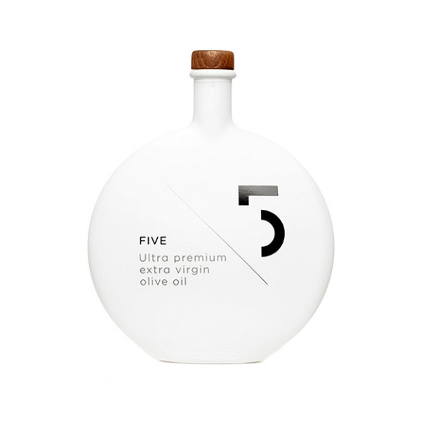 Five Ultra Premium Extra Virgin Olive Oil, 16.9 Fluid Ounce