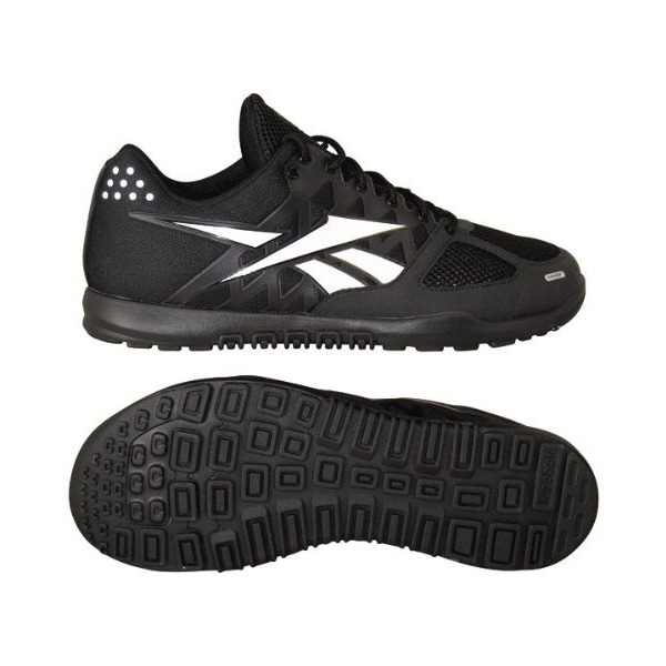 Reebok Men's R Crossfit Nano 2.0 Training Shoe, Black/Zinc Grey, 10.5 M US