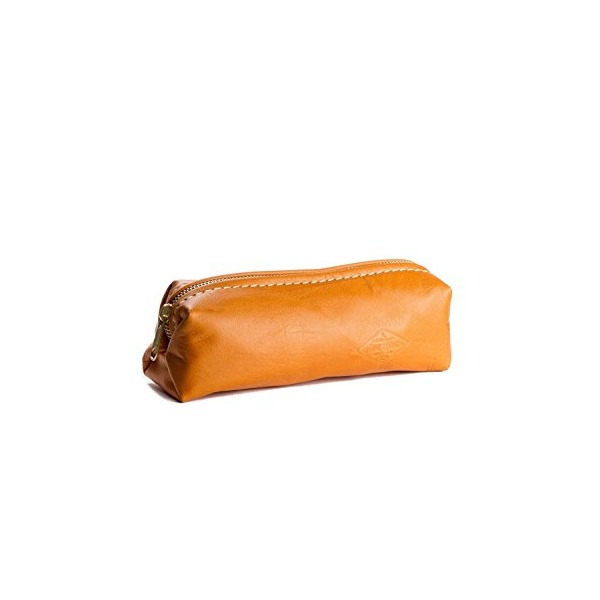 Leather Shave Bag Toiletry Bag Dopp Kit