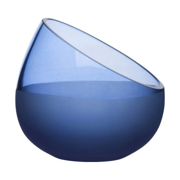 SEAglasbruk Aqua Decorative Bowl, Blue