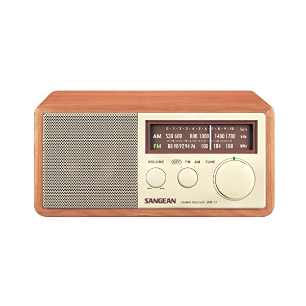 SANGEAN WR-11 AM/FM Table Top Radio