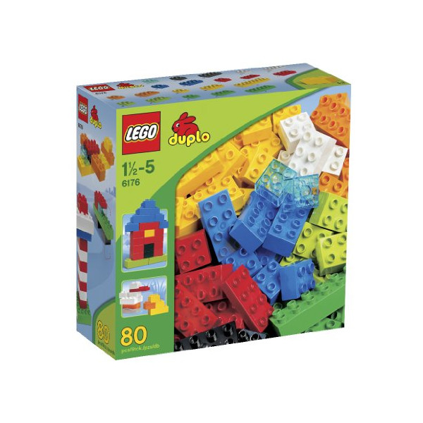 LEGO 6176 DUPLO Basic Bricks Deluxe (80 Pcs.)