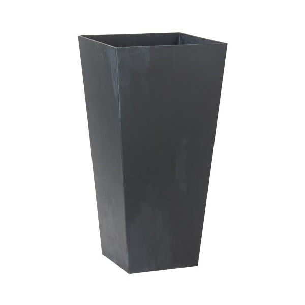 Novelty 35198 Ella Tall Planter, Black, 19.5-Inch