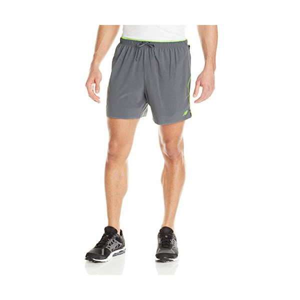 New Balance Men's Ultra 6-Inch Shorts, Medium, Chemical Green