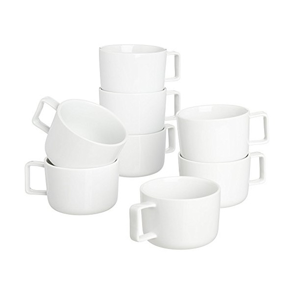 CB2 Set Of 8 Of Slip Mugs