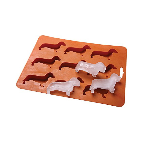 Dachshund Dog Shaped Ice Cube Tray