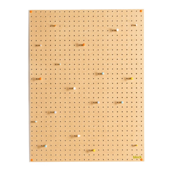 Block Pegboard with Wooden Pegs, Large