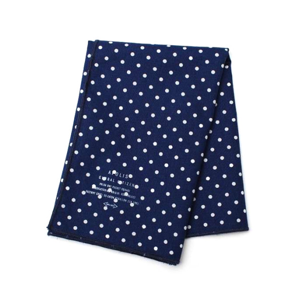 Apolis Polka Dot Pocket Square