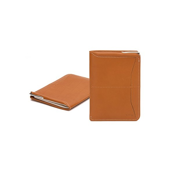 Bellroy Leather Passport Sleeve Wallet Tan