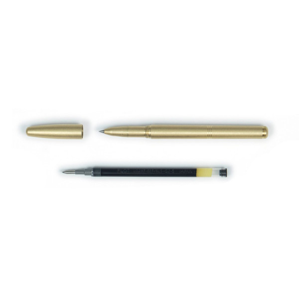 Machine Era Pen- Solid Brass