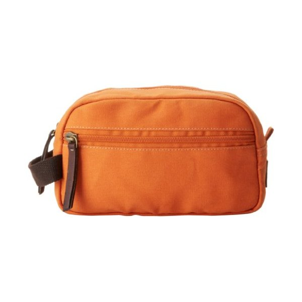 Timberland Men's Canvas Travel Kit, Orange, One Size