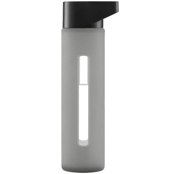 Takeya Modern Glass Water Bottle with Silicone Sleeve