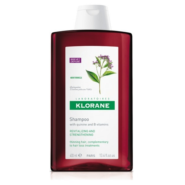 Klorane Shampoo with Quinine and B Vitamins 13.4 fl oz.
