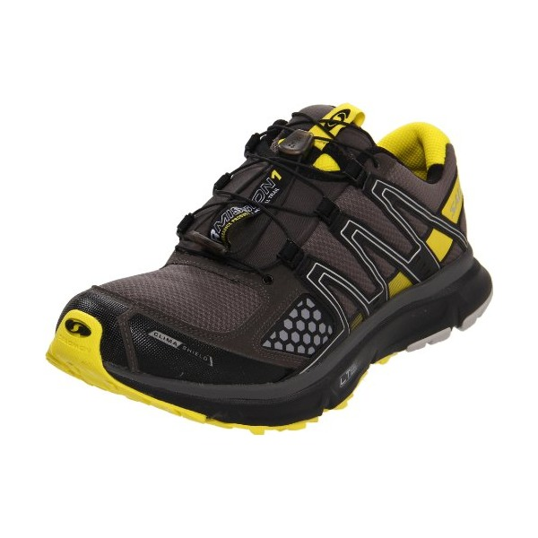 Salomon Men's XR Mission CS Trail Running Shoe,Autobahn/Black/Canary Yellow,8 M US