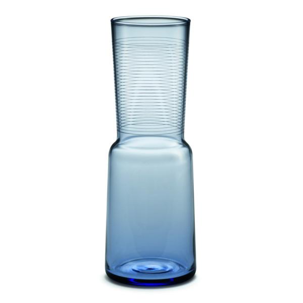 HolmeGaard Blossom Lily Vase, Soft Indugo Blue
