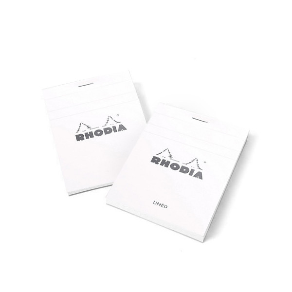 "Rhodia Ice No. 11 Top Staplebound Pad Graph (3"" x 4"") Pack of 3"