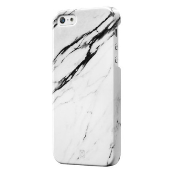 Element Collection Clip on Case for iphone 5 / 5S by Case Scenario - White Marble