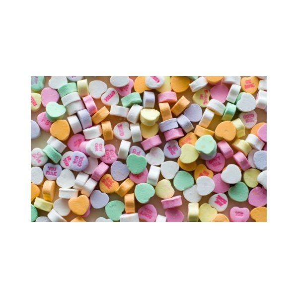 The Original Classic Flavor Necco Conversation Hearts, 3lb Bulk Bag
