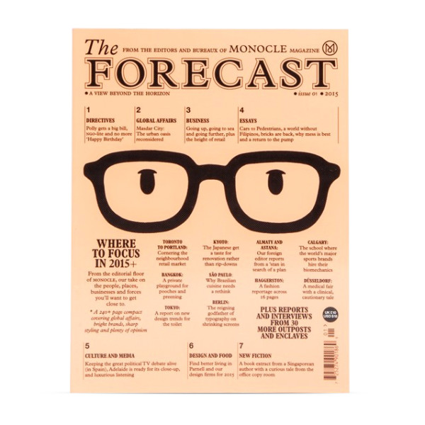 Monocle Magazine, The Forecast Issue 1