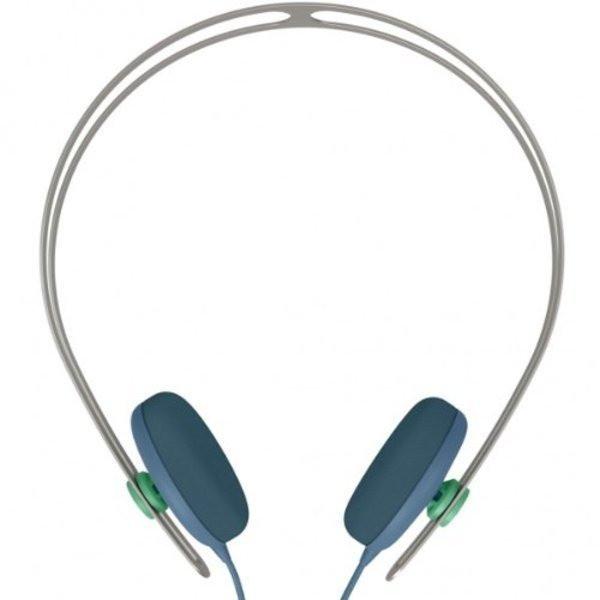 AIAIAI Tracks Headphones with Mic, Petrol Blue