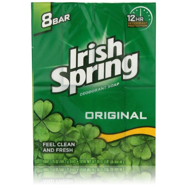Irish Spring Original Bar Soap, 8 Count