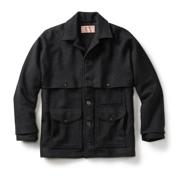 Filson Men's Mackinaw Cruiser, Charcoal
