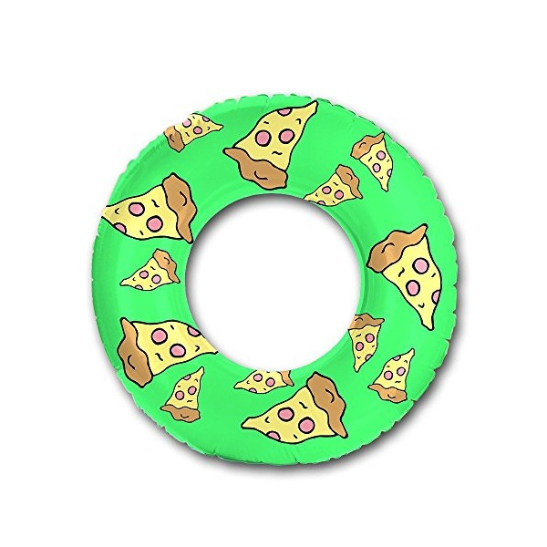 "Flonuts Pizza Inflatable 48"" Donut Tube Pool Float"